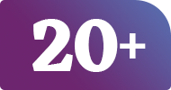 20+ years